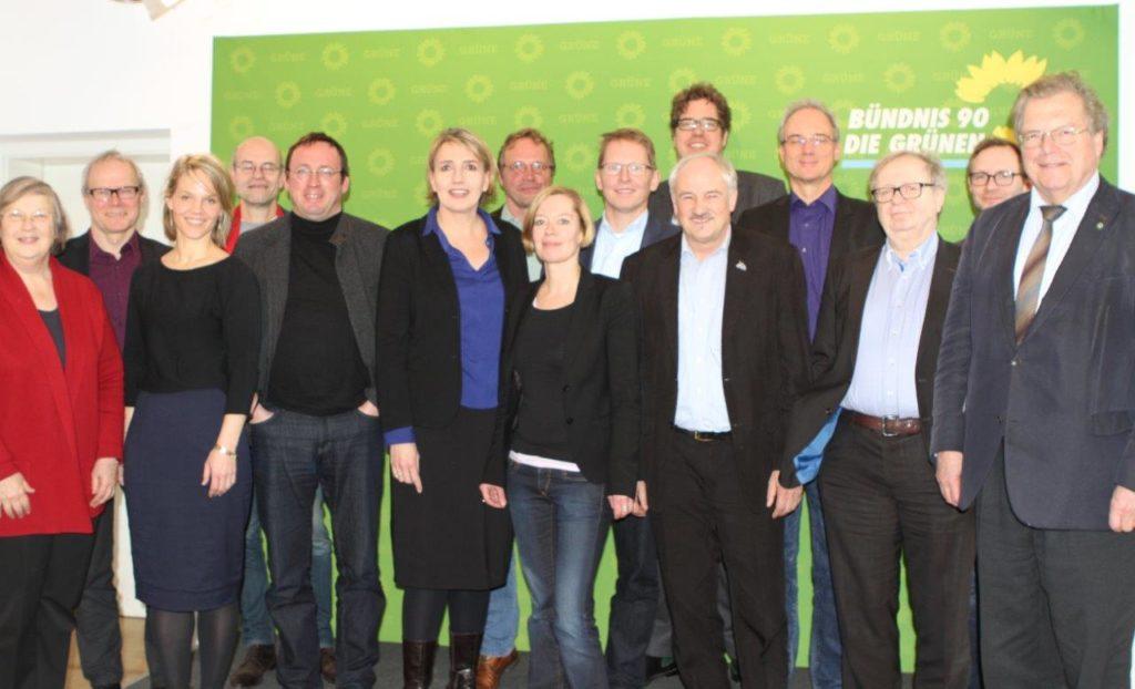 Spitzentreffen der Vorsitzenden der Umweltverbände und des Bundesvorstandes von BÜNDNIS 90/DIE GRÜNEN