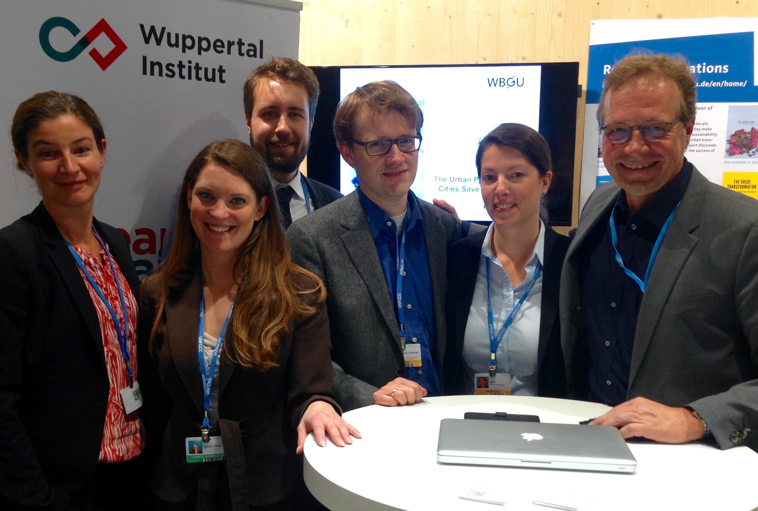 Team des Wuppertal Instituts bei COP23